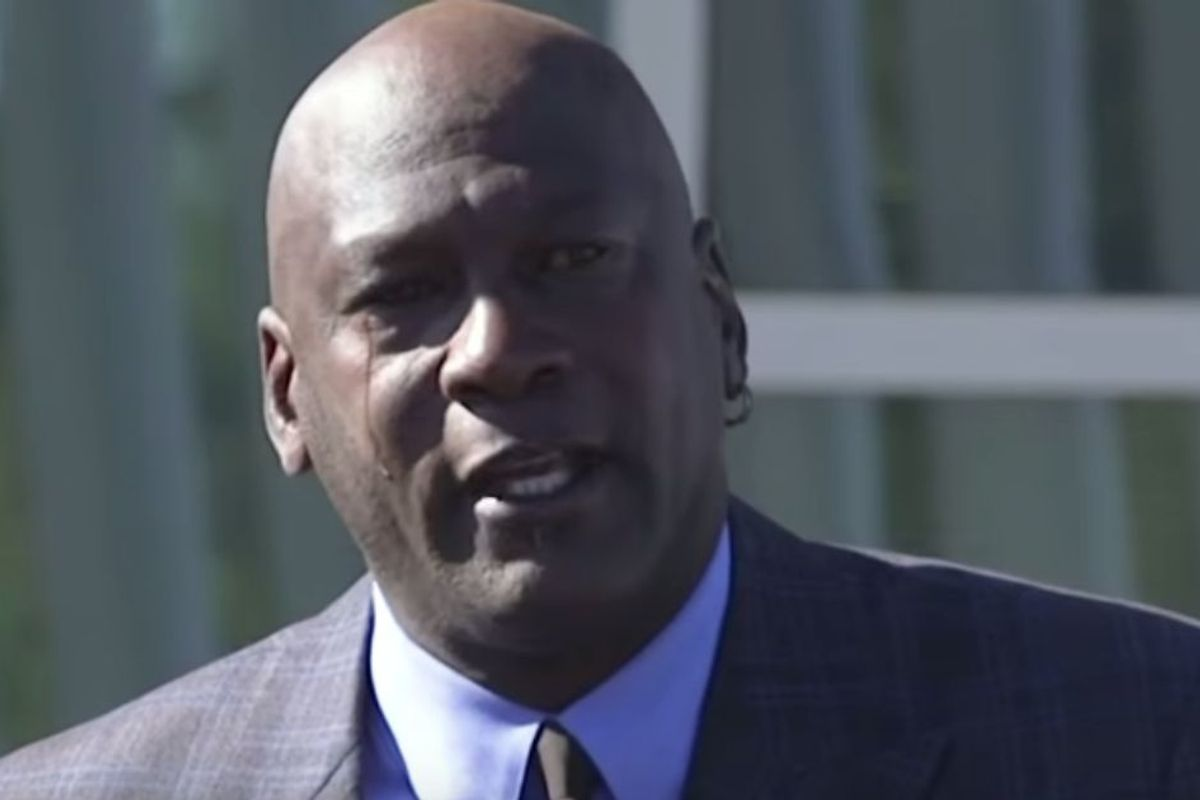 An emotional Michael Jordan opens his first clinic for the uninsured and underinsured
