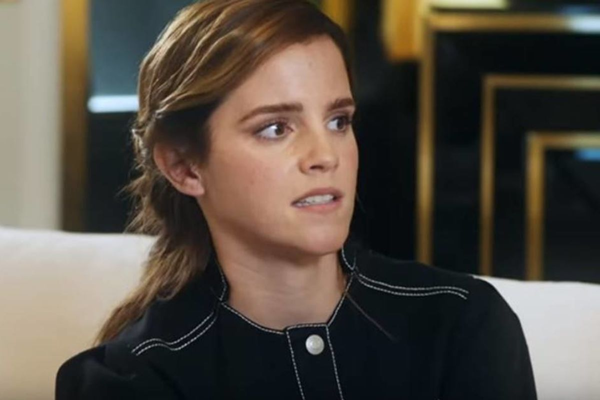 In a new interview, Emma Watson reveals she's no longer single, but 'self-partnered'