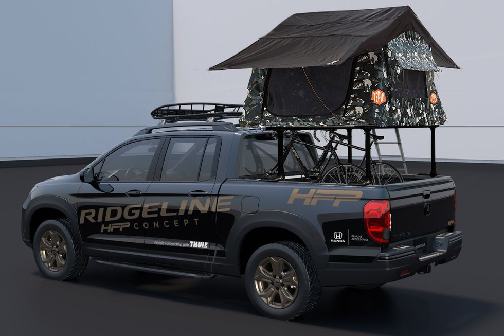 Ridgeline HFP Concept with Lifestyle Accessories