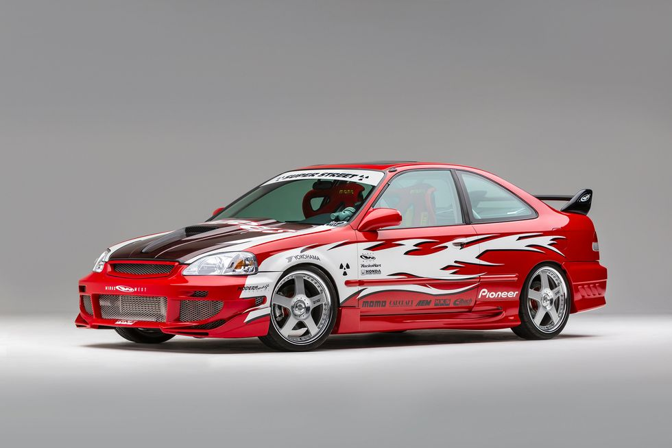 Super Street 2000 Civic Si Challenge Winner