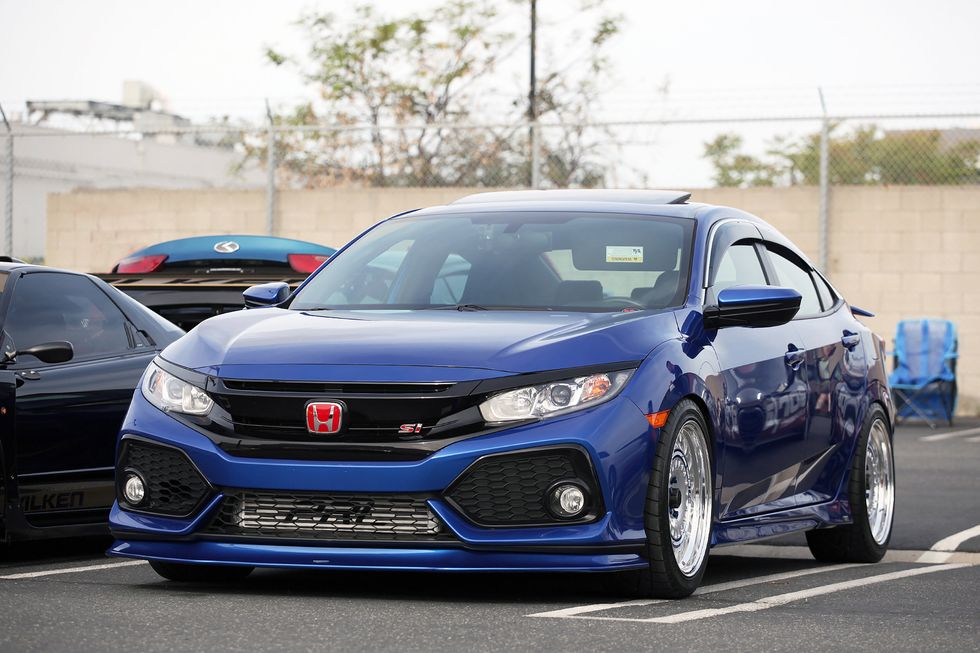 Honda Tuning 2018 Civic Si Project by Super Street Magazine