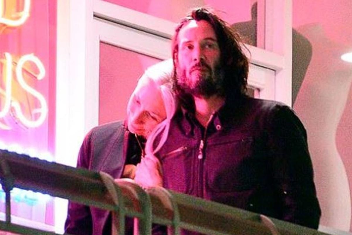 Keanu Reeves has a new girlfriend and *gasp* she's age-appropriate
