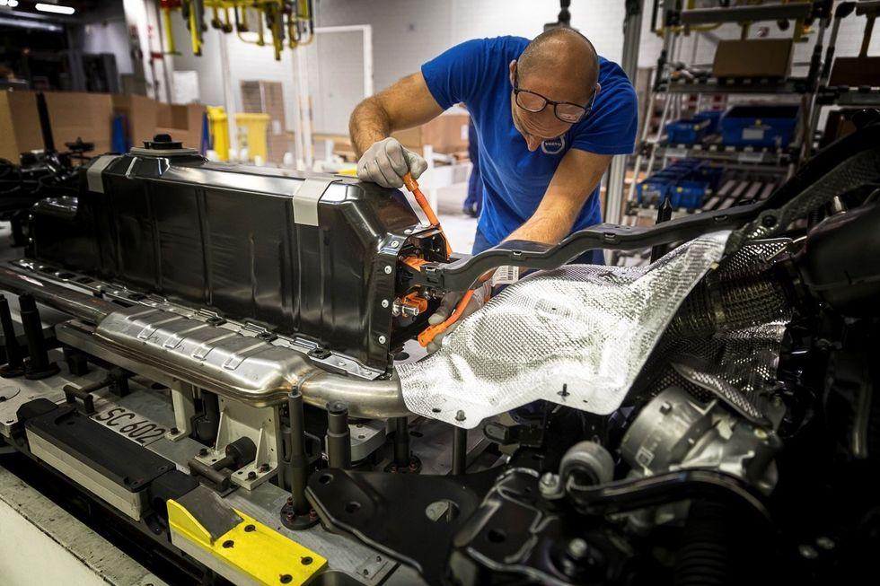 Volvo plant operation