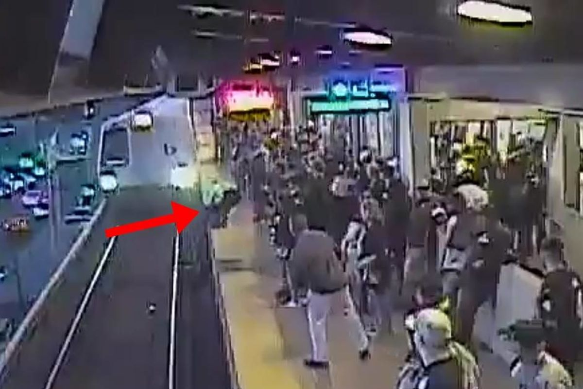 Video of an Oakland train employee saving a man's life is so insane, it looks like CGI