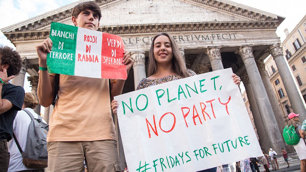 Italy Becomes First Country to Add Climate Crisis to Its Core School Curriculum