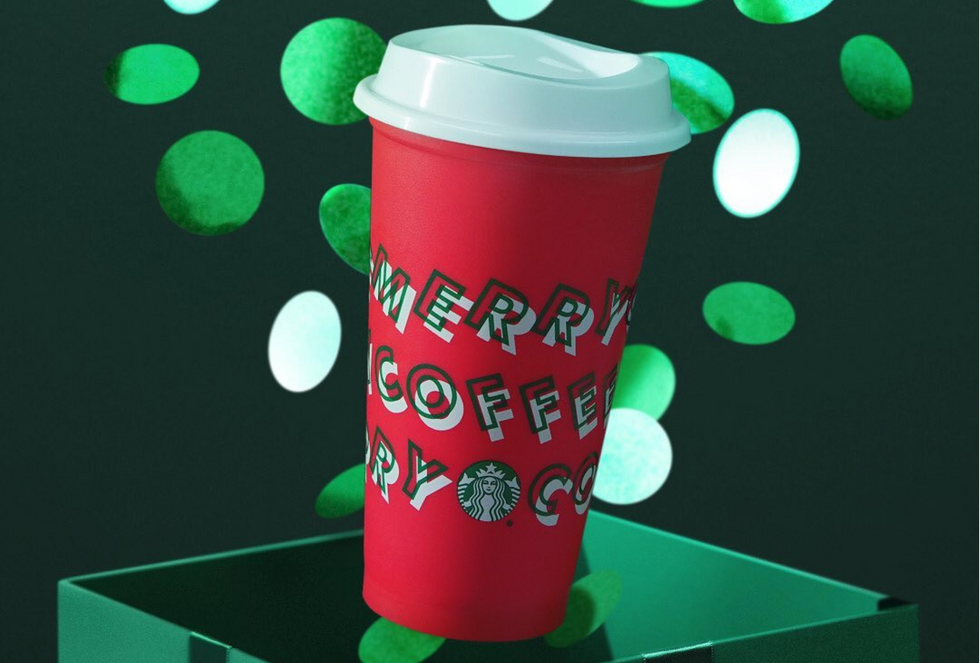 The Starbucks Holiday Cups Are Back This Week, And They're Way More Christmassy Than Last Year