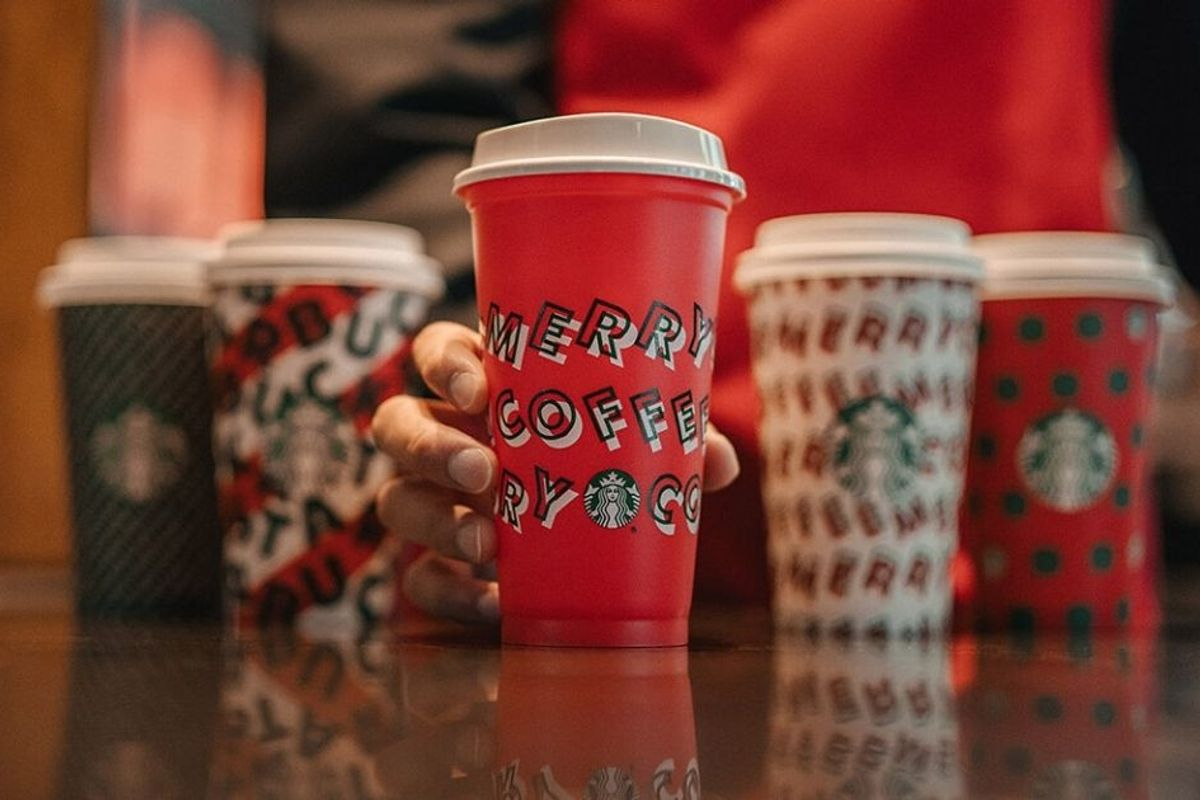 Starbucks' reusable holiday cups have arrived! Here's how to get one for free.
