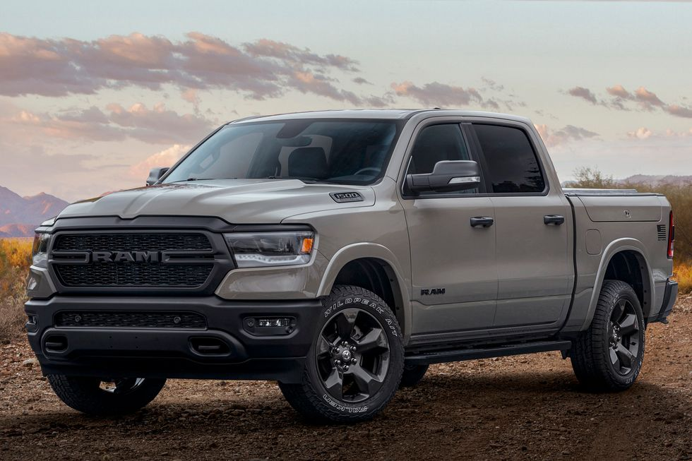 2020 Ram 1500 Built to Serve Edition front face grille wheels