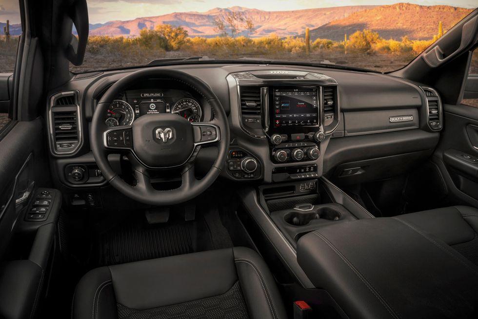2020 Ram 1500 Built to Serve Edition dashboard interior cabin