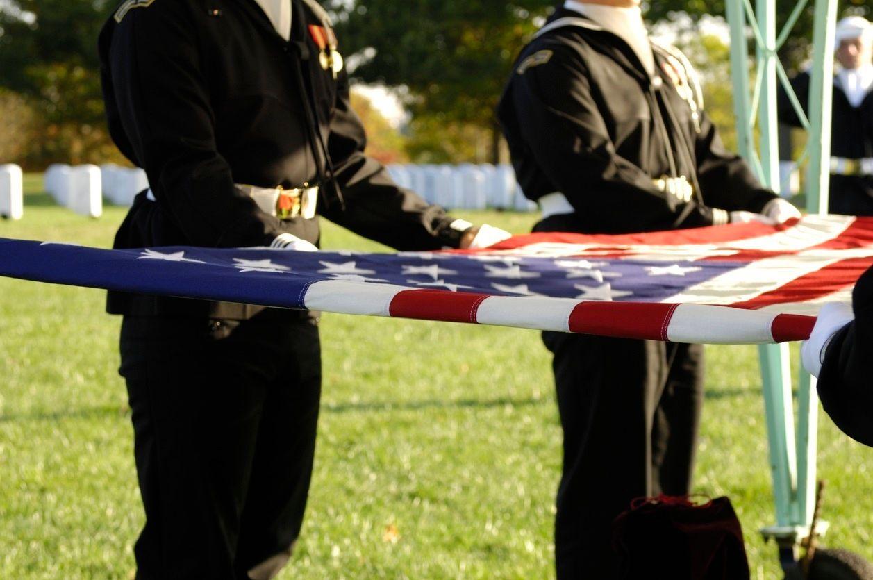 Associate Recalls Service in Navy Ceremonial Guard