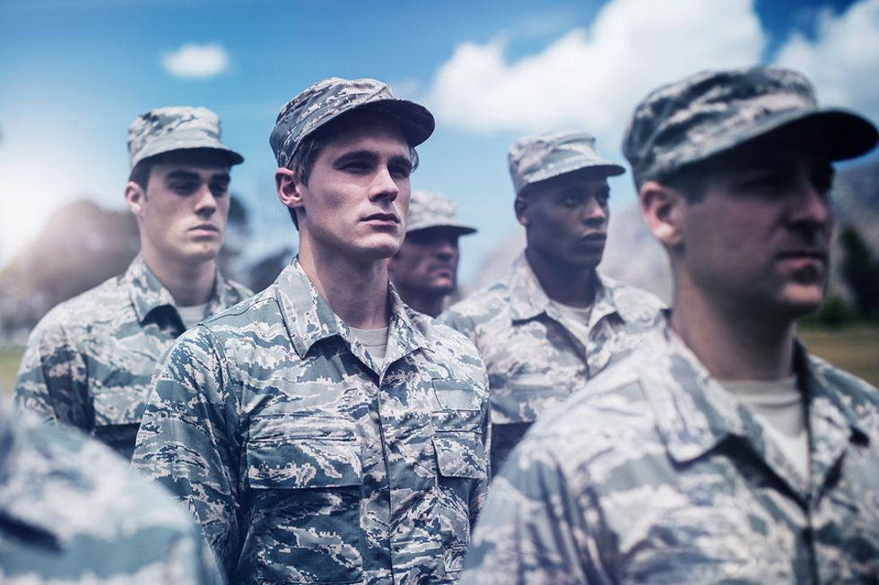There are many companies that like to build their workforce with veterans.