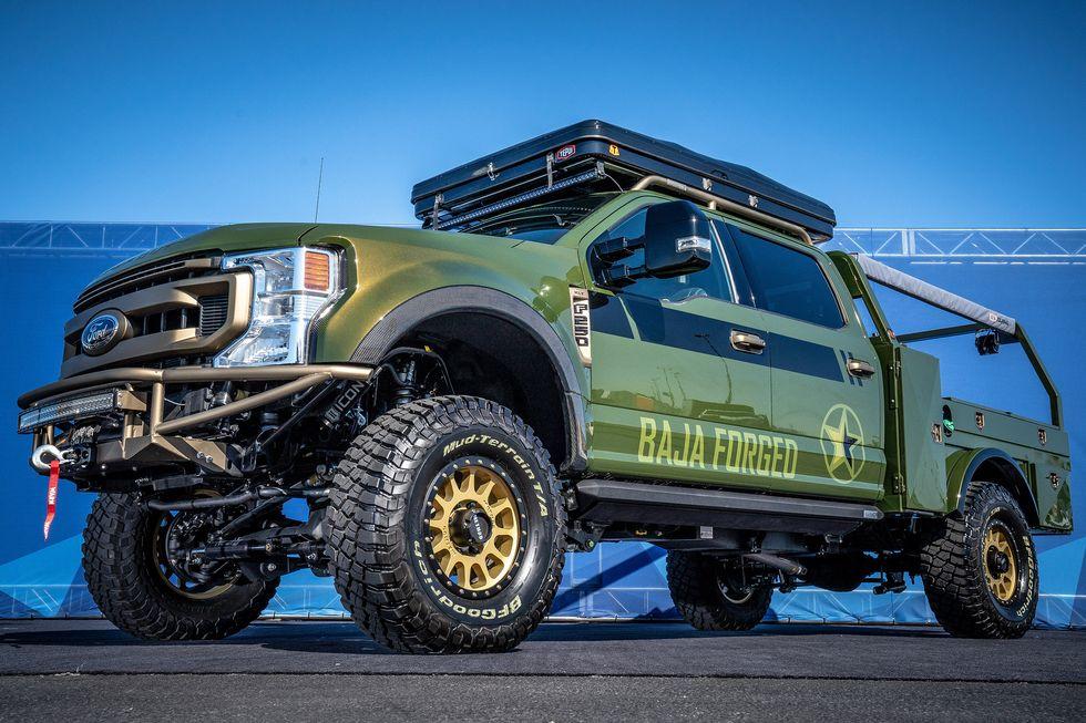 LGE-CTS Motorsports Baja Forged Ford F-250 Super Duty Crew Cab XLT