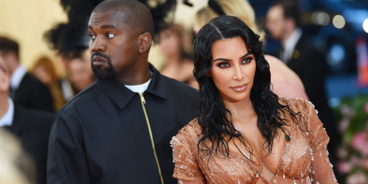 Kim Kardashian Removed Her Met Gala Dress's Fake Nipples For Kanye