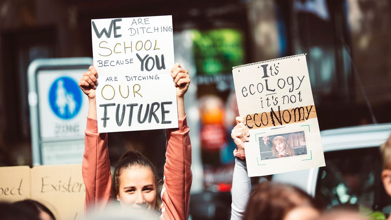 'Climate Strike' Wins 'Word of the Year' by Collins Dictionary