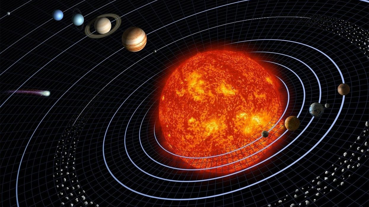 A neural network discovered Copernicus' heliocentricity on its own