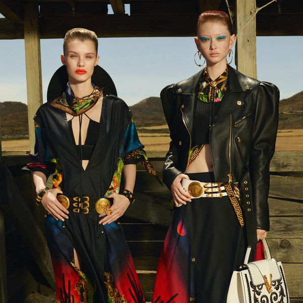 Watch These Versace Vixens Plot a Car Heist in the Wild West