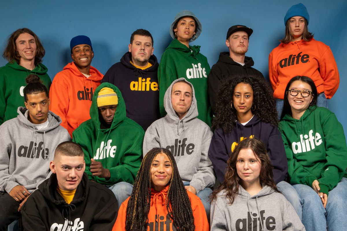 Alife Staged a Class Picture for Its Core Logo Hoodies