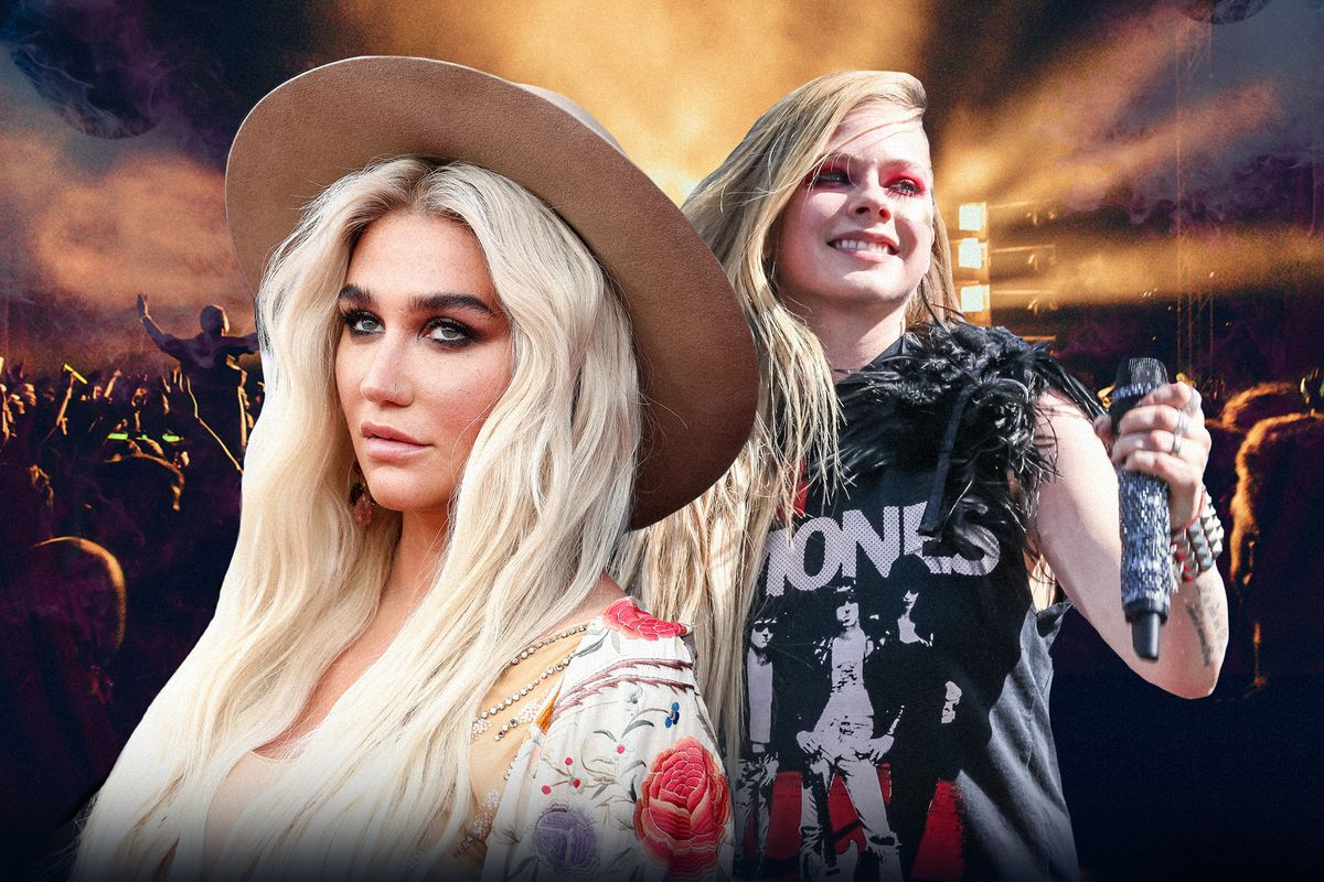 Prep Your FanFic: Avril Lavigne and Kesha Are Teaming Up
