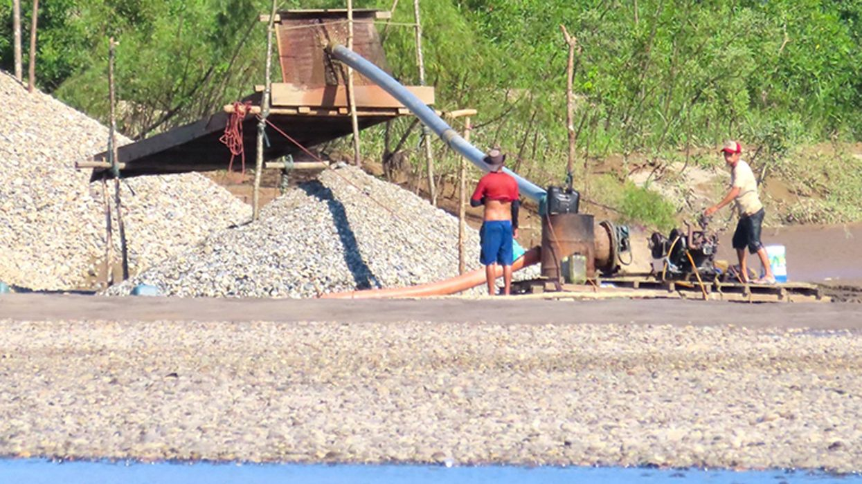 Illegal Gold Mining Is Laying Waste to the Amazon