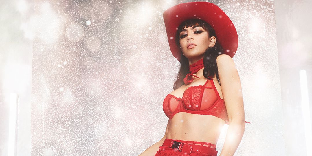 Charli XCX Strips Down As Agent Provocateur's Rodeo Queen