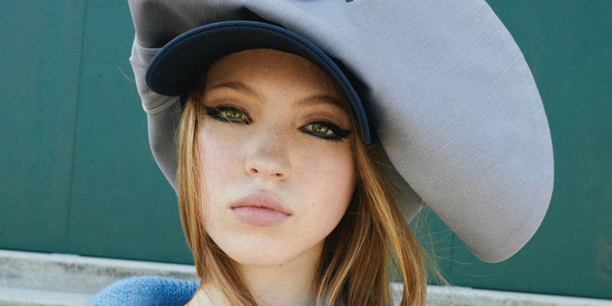 Lila Moss Is A High-Fashion Jockey For Her First Campaign With Miu Miu