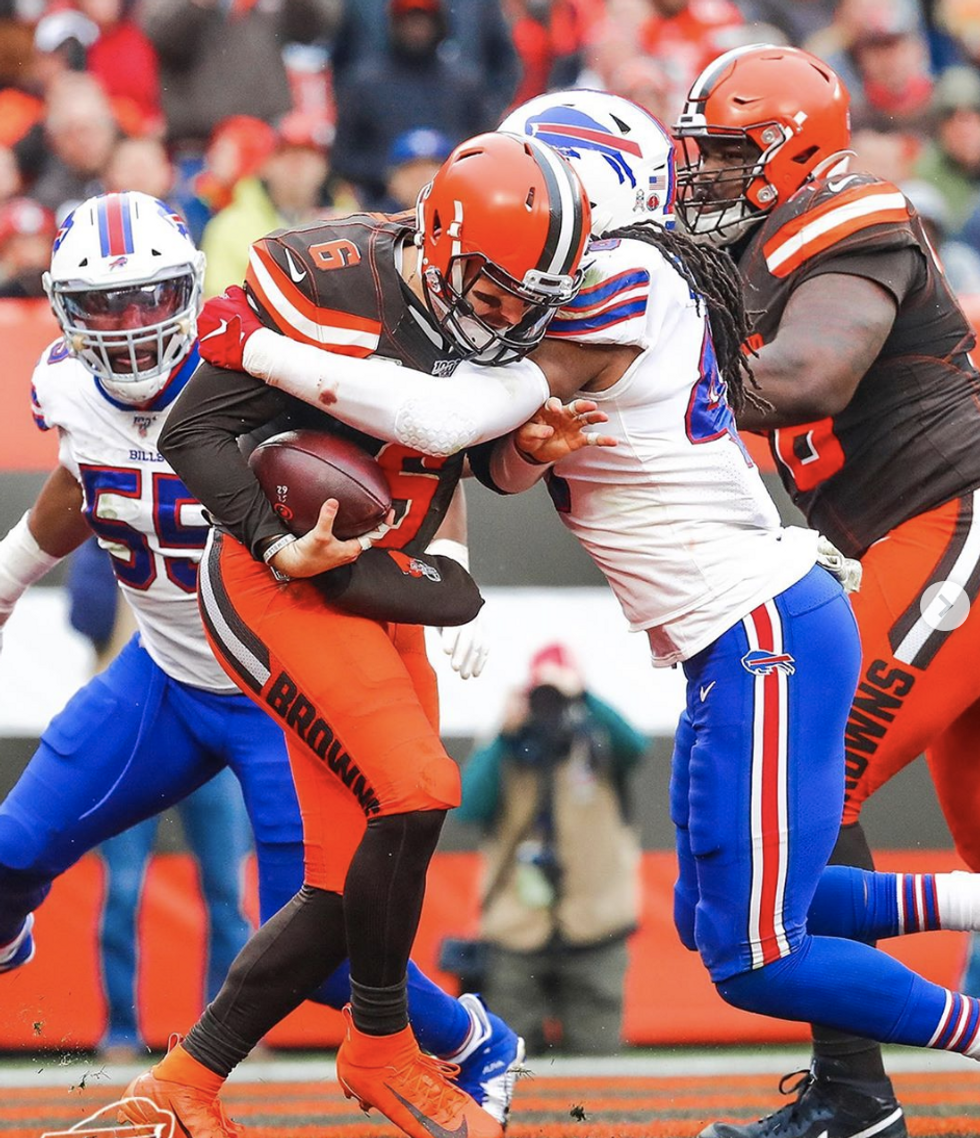 The Buffalo Bills fail to convert against the Cleveland Browns