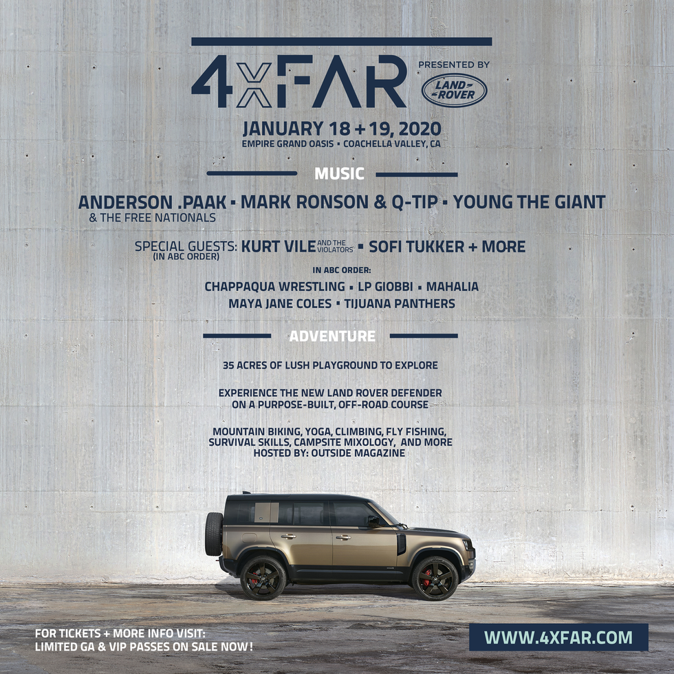4xFAR event poster