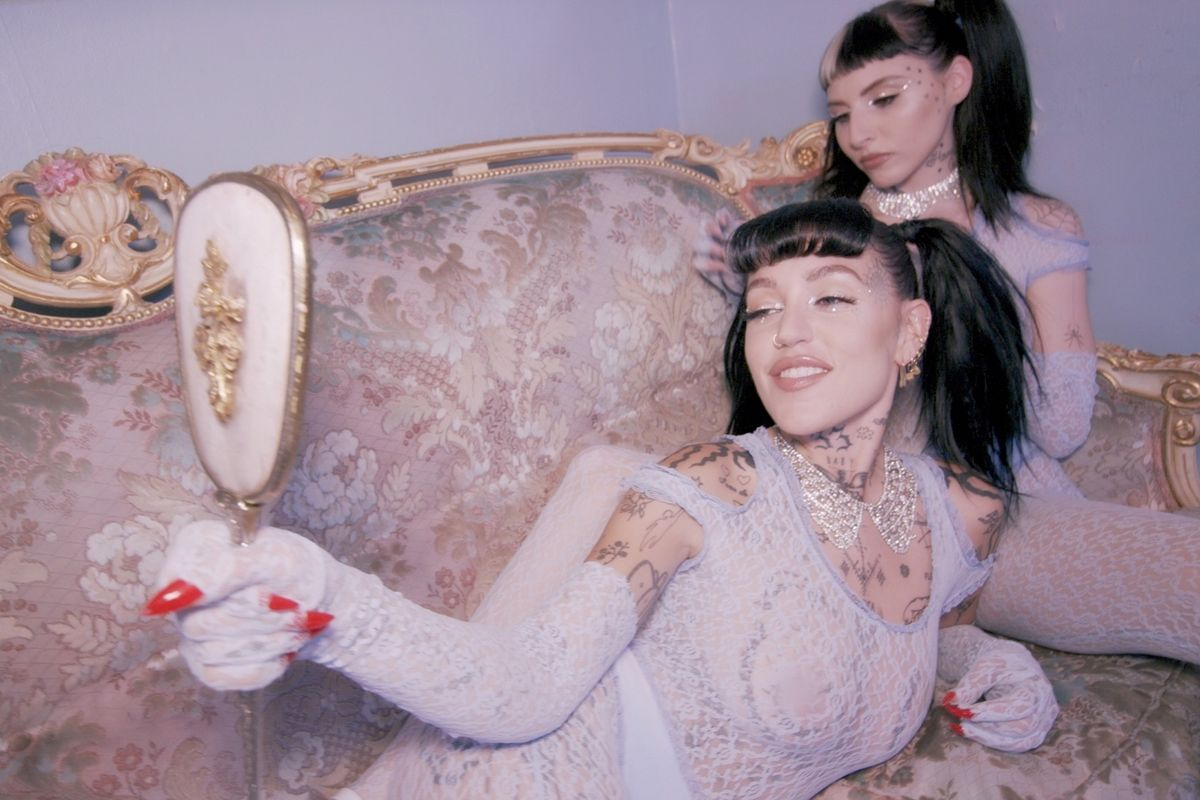 Brooke Candy and TOOPOOR Serve Soft Opulence in 'Freak Like Me'