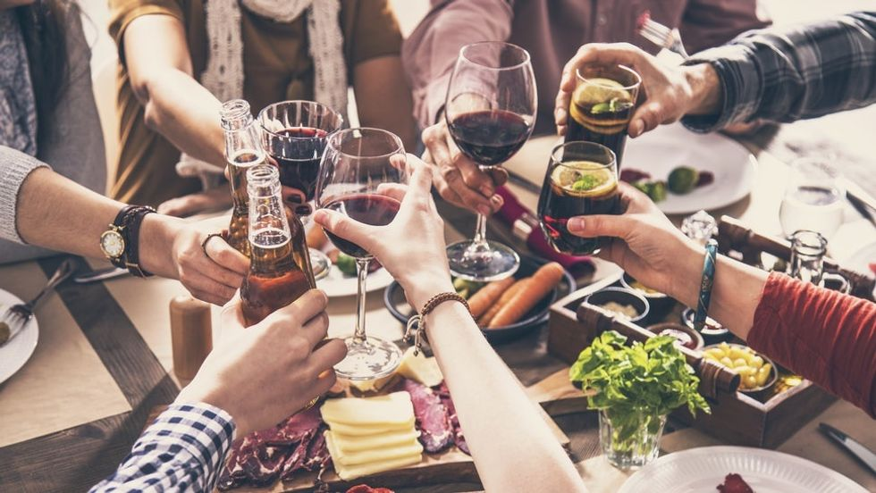 A Friendsgiving And Thanksgiving Drinking Game To Help You Survive The Holidays