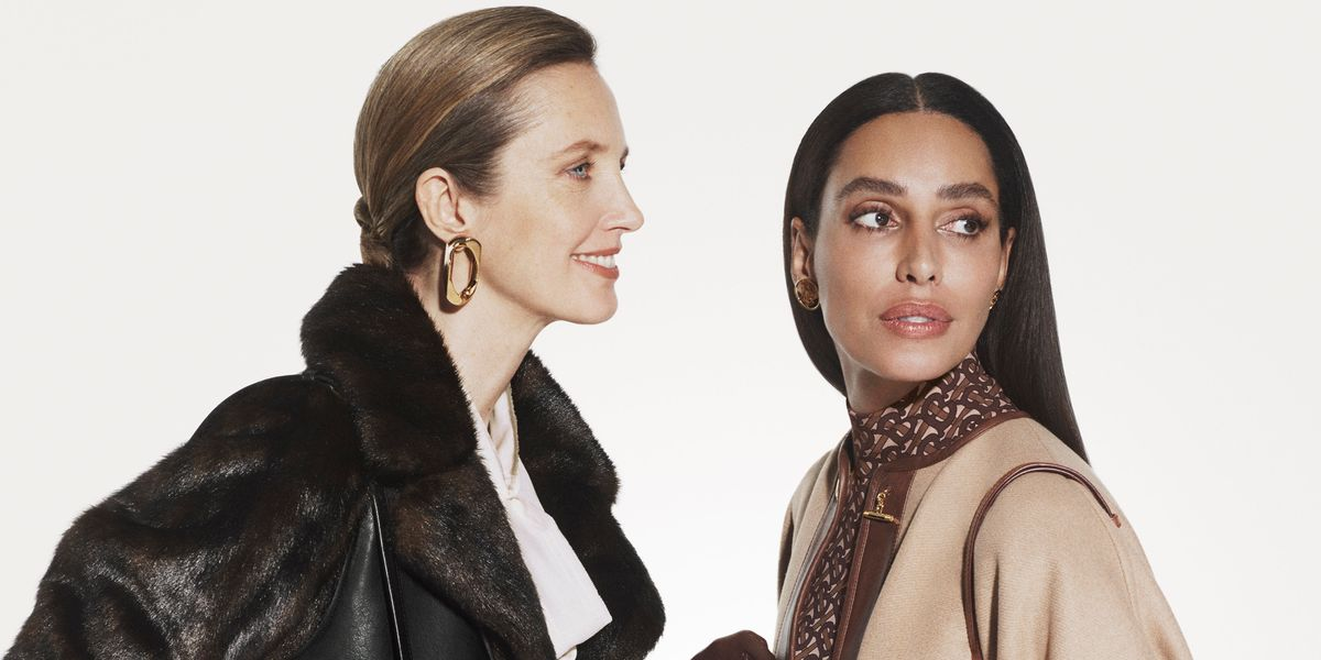 Lea T Reunites With Riccardo Tisci for Burberry Campaign