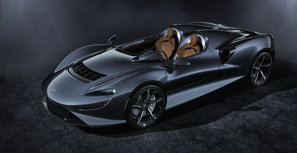 McLaren Elva 2020 2019 side tires wheels