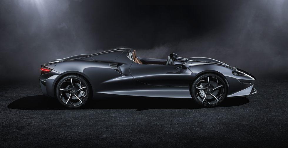 McLaren Elva 2020 2019 side tires wheels roof
