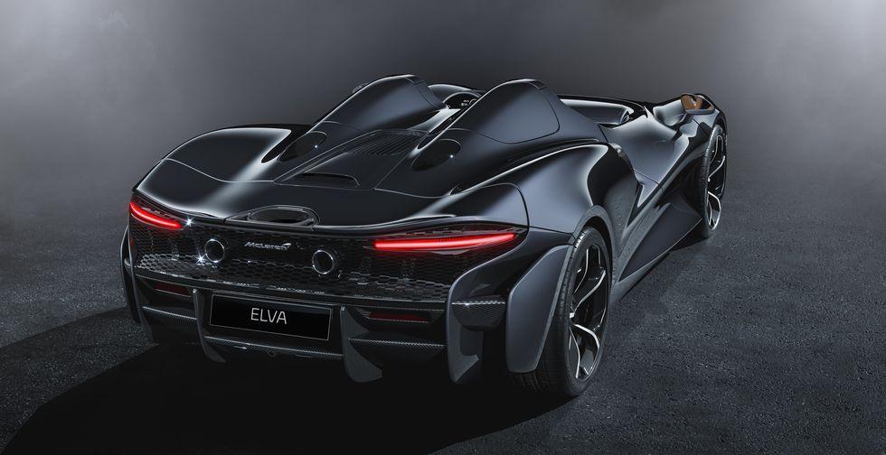 McLaren Elva 2020 2019 back rear