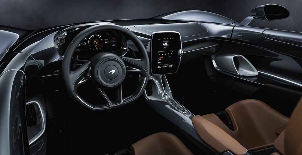 McLaren Elva 2020 2019 interior cockpit cabin