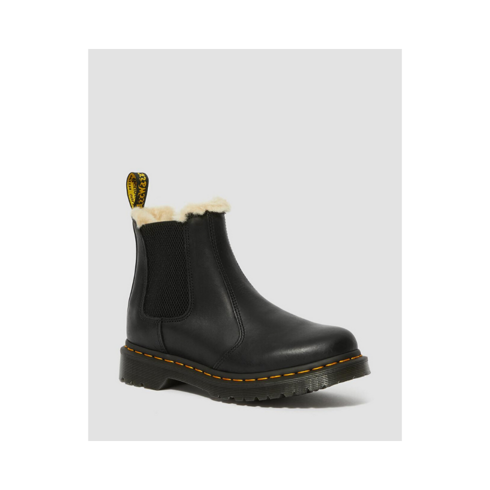 FUR-LINED 2976 LEONORE WYOMING CHELSEA BOOTS