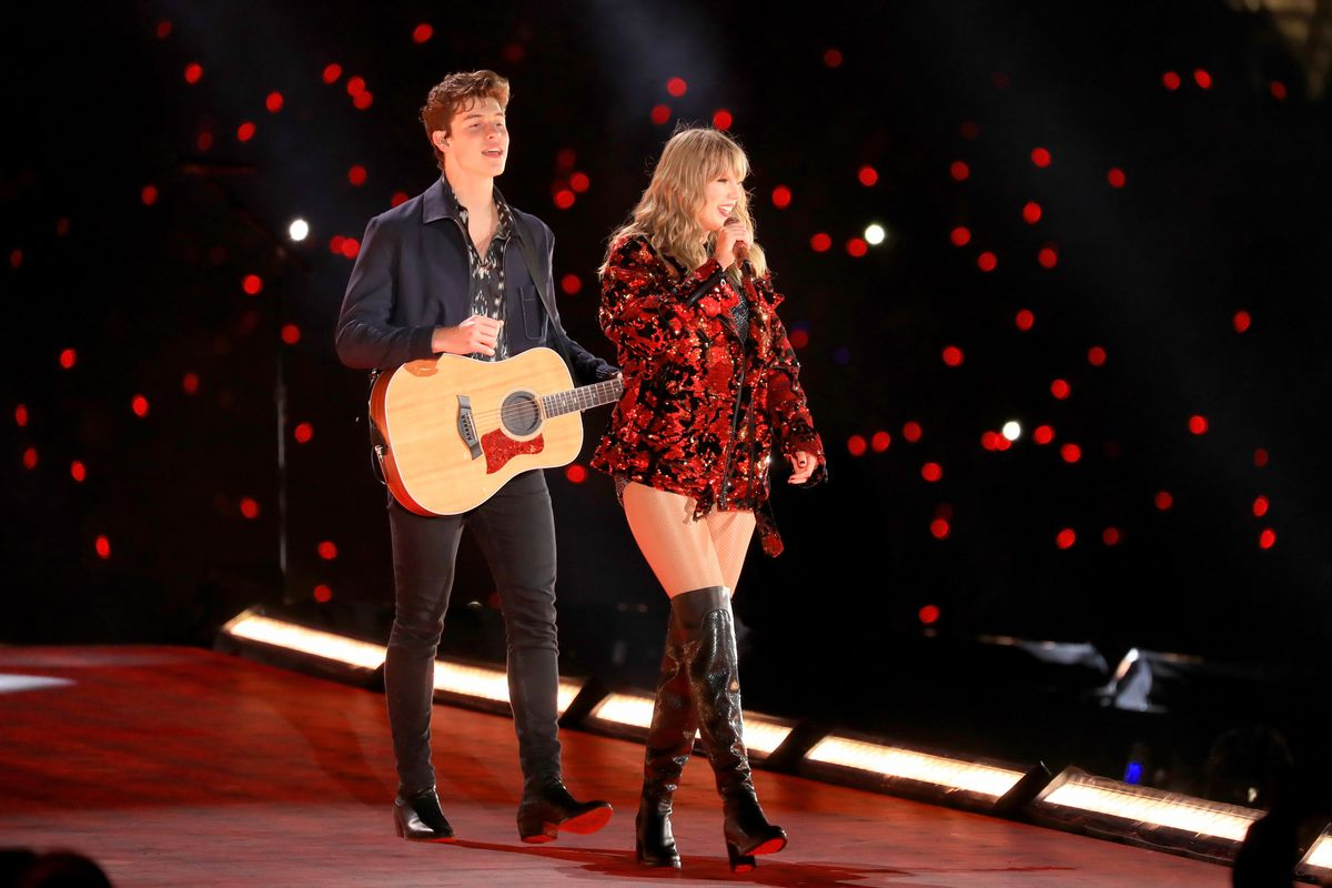 Shawn Mendes Cosplays as Taylor Swift's 'Lover' On Remix
