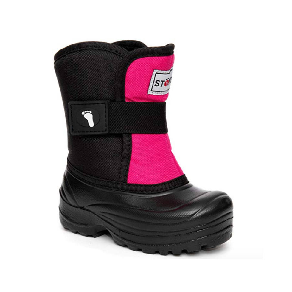 Stonz Scout Scout Cold Weather Snow Boots Super Insulated, Rugged, Lightweight, and Warm (5T-9T)