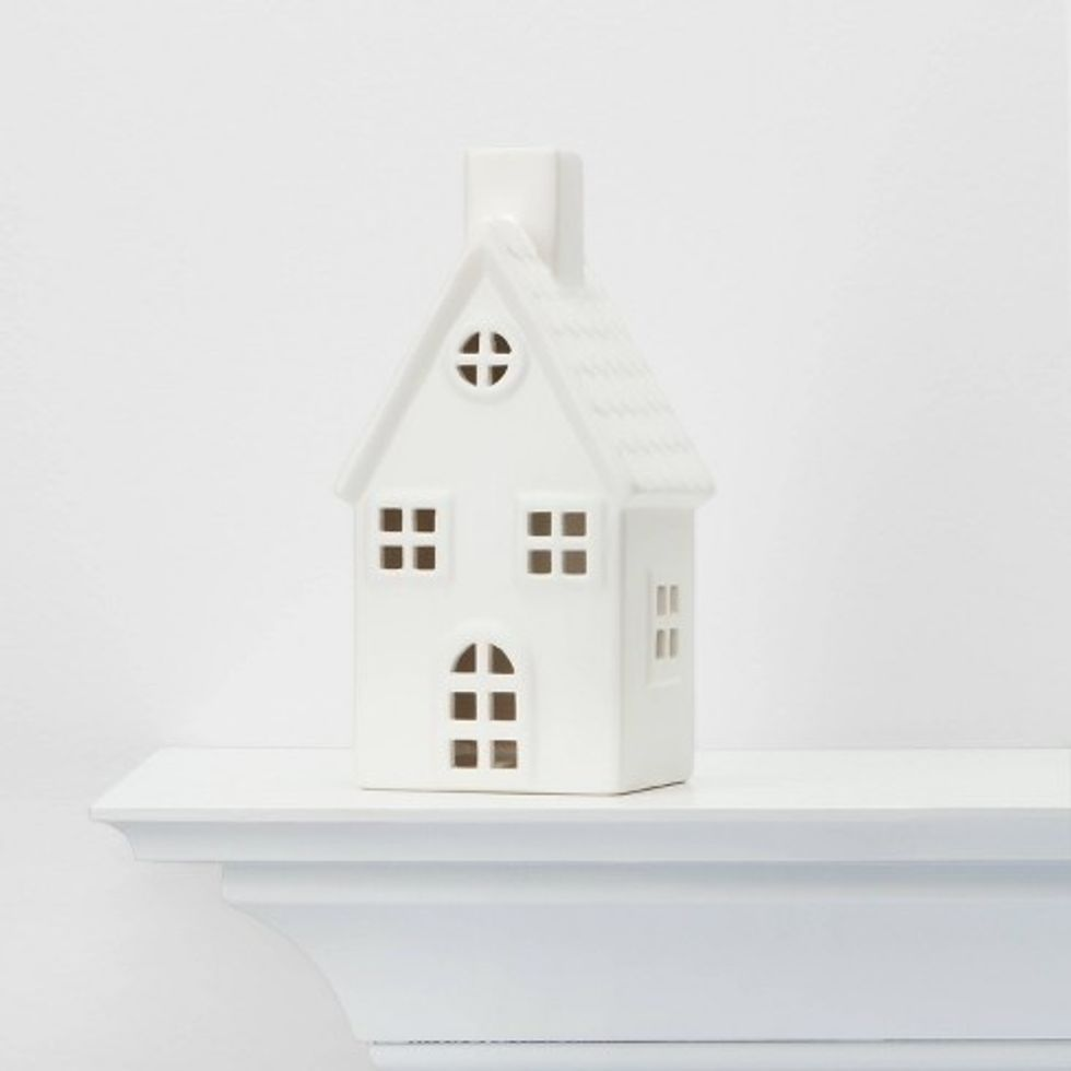Ceramic house decorative figurine