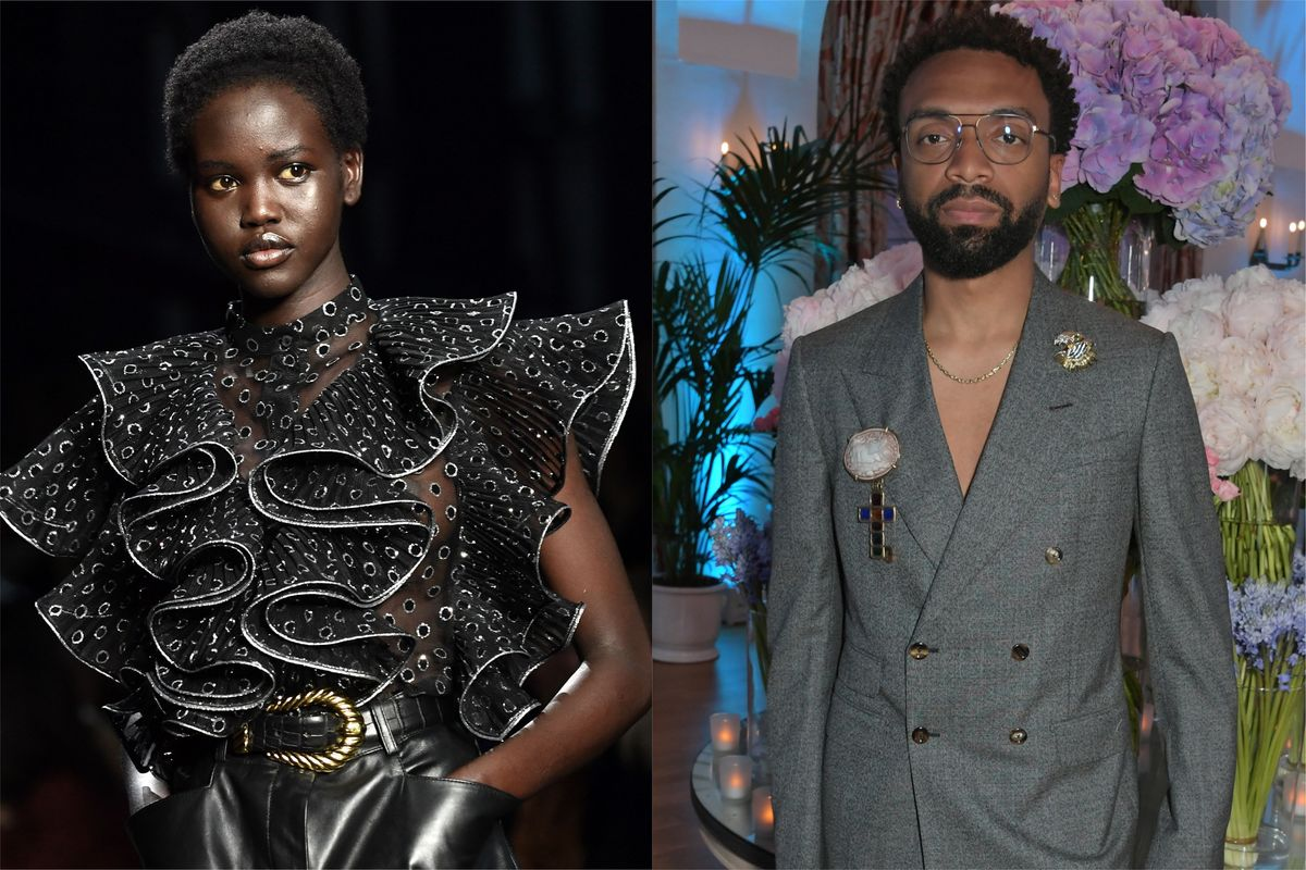 Adut Akech and Kerby Jean-Raymond Honored by 'TIME'