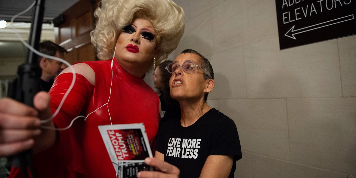 The Impeachment Drag Queen Is the Future Liberals Want