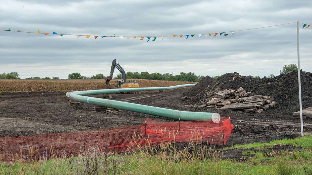 Standing Rock Sioux Say Proposed DAPL Expansion Will Increase Spill Risk