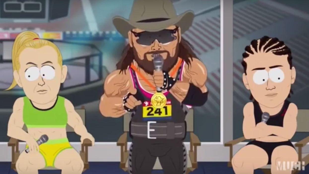 'South Park' episode brutally mocks transgender athletes competing in women's sports