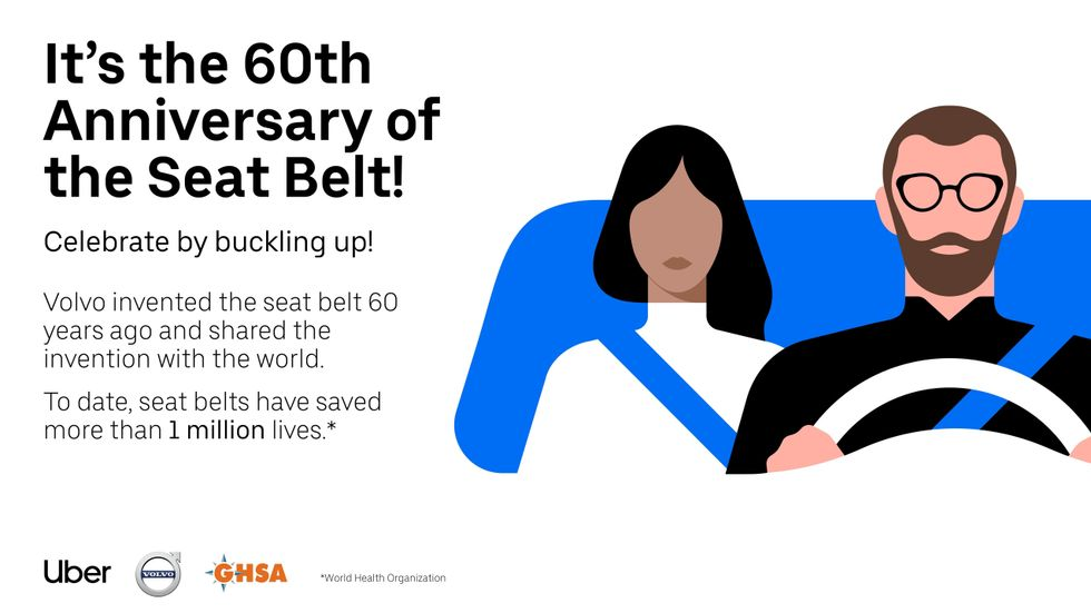 60th Anniversary of the Seat Belt ad
