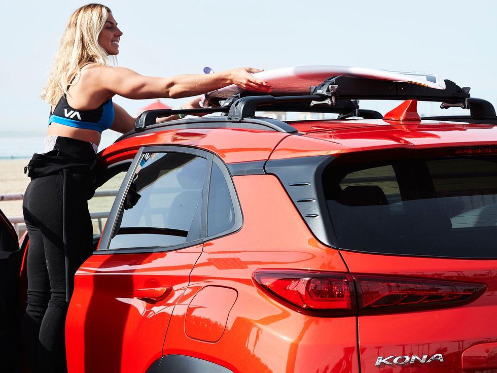 2019 Hyundai Kona Thule accessoris roof rack