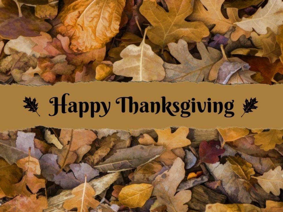 Please Don't Skip Thanksgiving