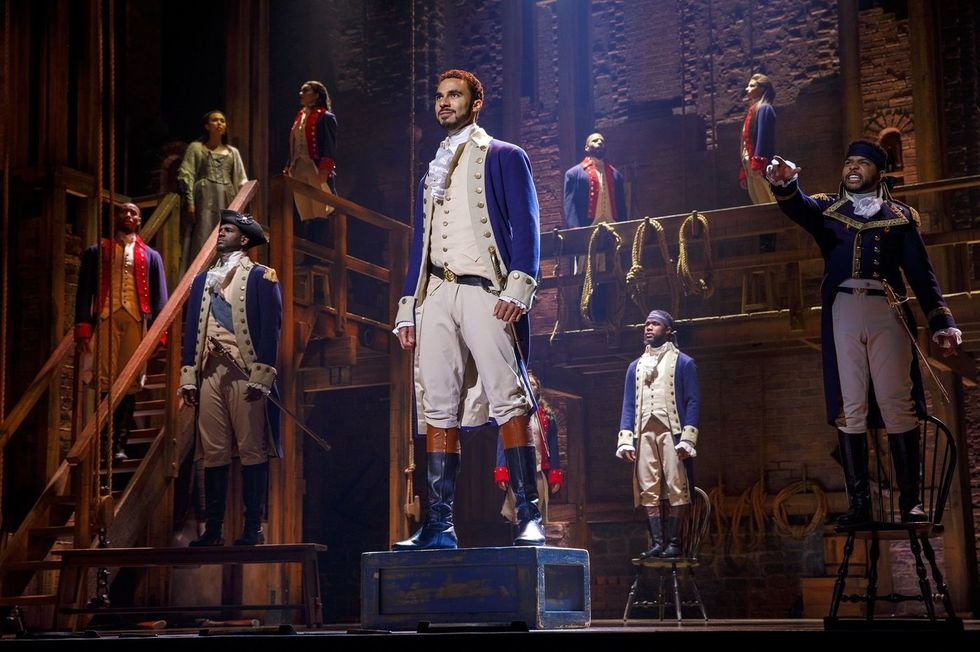 Hamilton Philadelphia Review