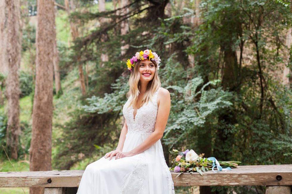 Boho Wedding Dress Styles For Every Season Brit Co