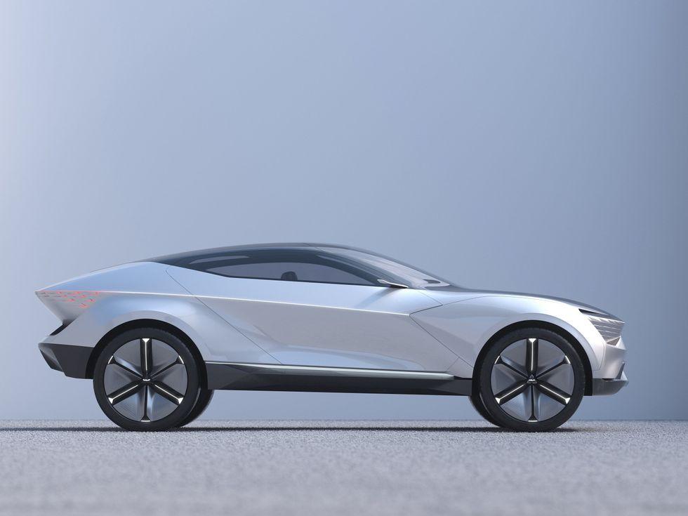 Kia Futuron Concept side