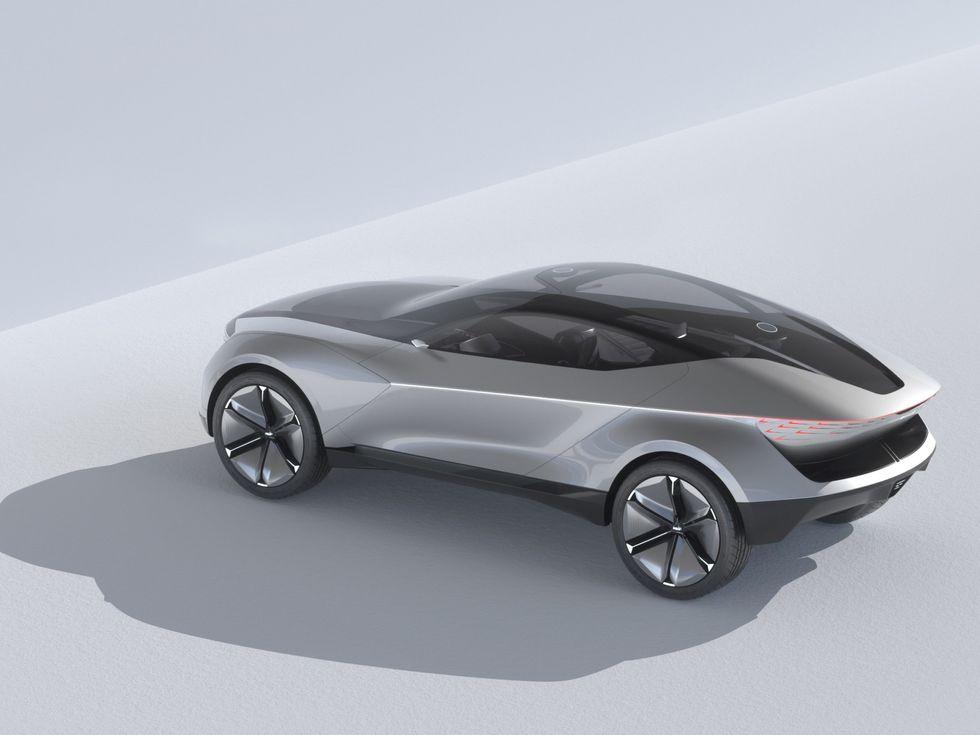 Kia Futuron Concept top roof