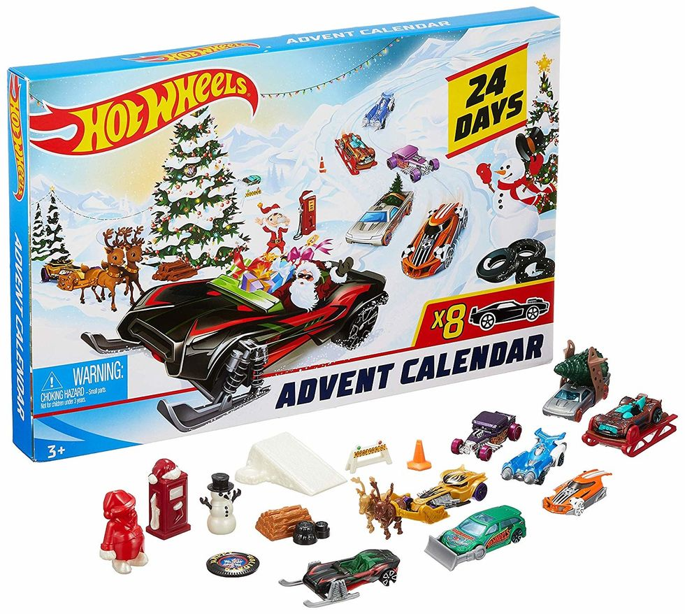 Hotwheels advent calendar